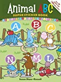 Animal ABC Super Sticker Book (Dover Sticker Books) (English and English Edition)