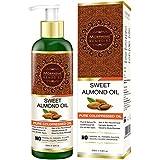 Morpheme Pure Sweet Almond Oil 200 Ml (ColdPressed) For Hair, Body, Skin Care, Face 200 Ml