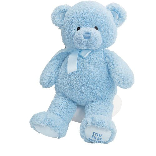 Gund Baby My First Teddy-Medium-Blue
