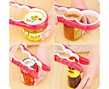SchoolSupplies Kitchen Creative Tools 4 in 1 Multifunction Gourd-shaped Can Opener Screw Cap Jar Bottle Wrench Openers Random (Color: Multicolor)