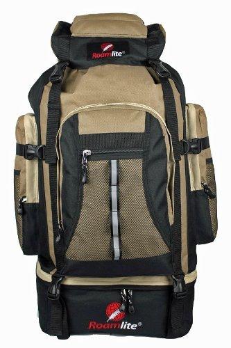80-85-Litre-Backpacks-Rucksacks-Bags-Camping-Hiking-Ruck-sack-Bag-Extra-Large-XL-Size-Glastonbury-Festival-Backpack-Super-Lightweight-1kg-Waist-Sternum-Straps-Roamlite-RL02M