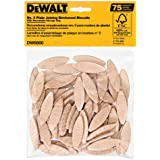 DEWALT DW6800 No. 0 Size Joining Biscuits (75 Pieces)