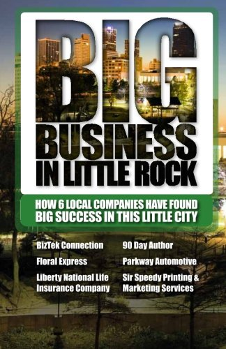 Big Business In Little Rock - Magazine cover