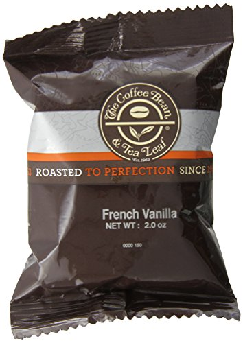 The Coffee Bean & Tea Leaf Coffee Portion Pack, French Vanilla, 24 Count (Pack Of 24)