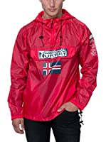Geographical Norway Chaqueta Impermeable Brest (Rojo)