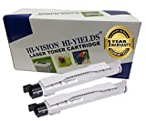 HI-VISION HI-YIELDS ® Compatible Toner Cartridge Replacement for Dell 5100 (2 Black, 2-Pack)