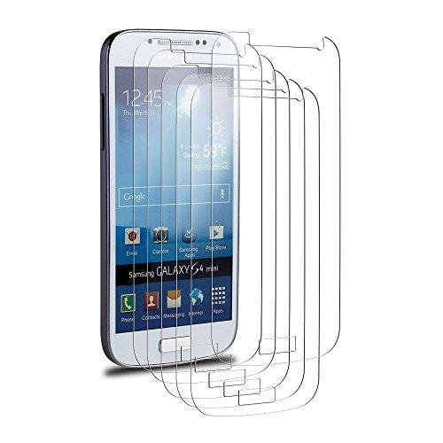 Ganvol 6 x Klar Displayschutzfolie Displayschutz Schutzfolie Folie für Samsung Galaxy S4 Mini I9190 Picture
