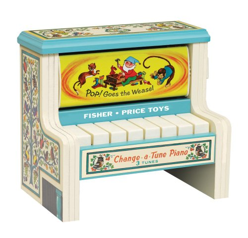 Fisher Price Classic Change a Tune Piano
