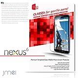 Nexus 6 Y!mobile 対応 9H 液晶保護 強化ガラスフィルム(ネクサス6 ワイモバイル)Google モトローラ・モビリティ スマホ カバー スマホケース 携帯カバー microusb ケーブル 充電器 対応 ケース