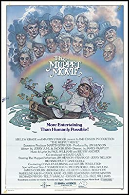 """The Muppet Movie 1979 ORIGINAL MOVIE POSTER Adventure Comedy Family - Dimensions: 27"""" x 41"""""""