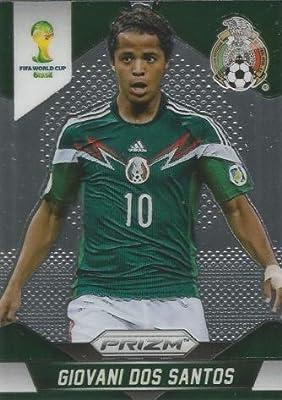 Panini Prizm World Cup Brazil 2014 Base Card # 147 Giovani Dos Santos Mexico