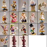 Alice in Wonderland Figures- set of 18