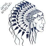 Spestyle new design hot selling fashionable Native Americans temporary tattoo sticker