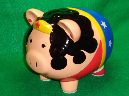 Collectible Limited Wonder Women Piggy Bank - La Maya Chocolaterie - 1