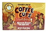 Trader Joes Coffee Cups - Single Serve - Medium Roast Arabica Coffee