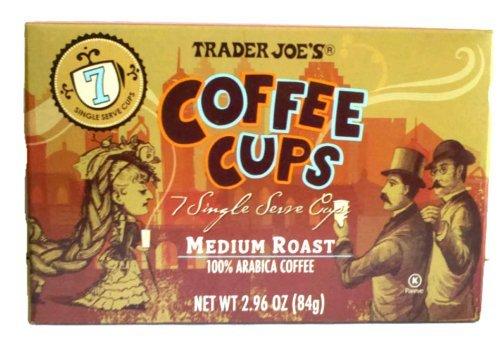 Trader Joe'S Coffee Cups - Single Serve - Medium Roast Arabica Coffee