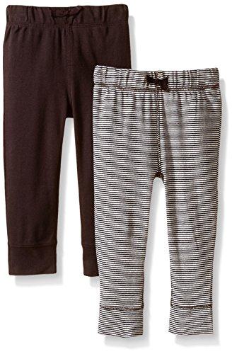 Carter's Baby Boys' 2 Pack Pants (Baby) - Brown/Brown Stripe- 24M