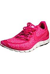 Womens Nike FREE 5.0 V4 Running Shoes Sail / Pink Force 511281-101