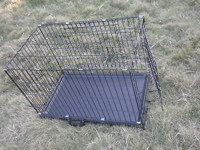 """42"""" Pet Wire Cage with ABS Pan"""