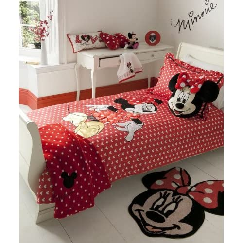 red minnie mouse bedding