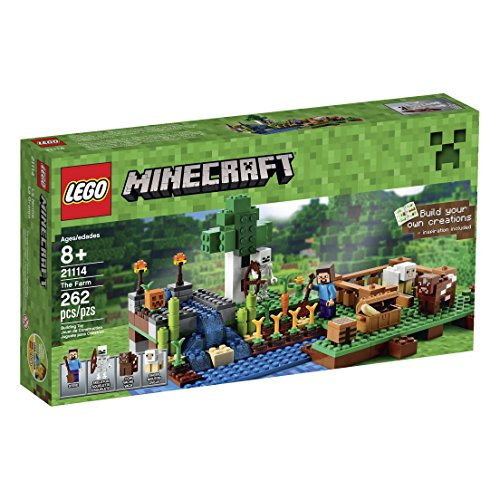 New LEGO Minecraft 21114 The Farm