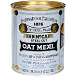 McCann's Steel Cut Irish Oatmeal, 28-ounce Cans [Pack of 2]
