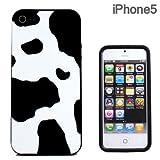 aglowDESIGN iPhone5専用 アニマルシリコンケース ウシ柄 AGC-IP5AN-COW