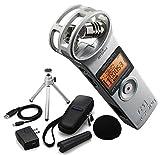 Zoom H1 2.0 Silber Silver Recorder MP3 Wave + APH-1 Zubehörset