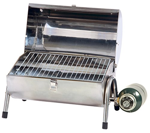 Propane bbq grill stainless steel portable outdoor cooking