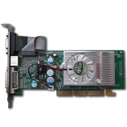 Axle3D Nvidia Geforce 6200 512MB DDR2 64 Bit W DVI VGA S Video Low Profile Bracket AGP 8x Card Review