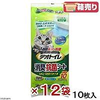 1週間消臭抗菌デオトイレ専用シート 10枚 × 12個【まとめ買い ケース販売】