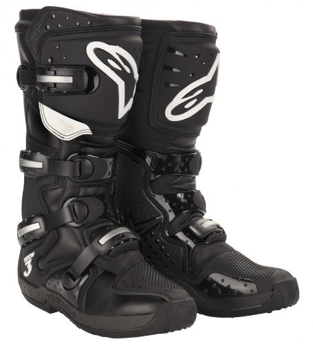 bottes de moto alpinestars bottes moto cross alpinestars tech 3 couleur noir size 45 5. Black Bedroom Furniture Sets. Home Design Ideas