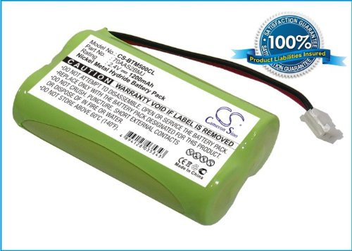 Battery2Go Ni-Mh Battery Pack Fits Binatone Md500, Bc102910, Cp002, Synergy 600, 6Aas2Bmj, 70Aas2Bmj, Synergy 500