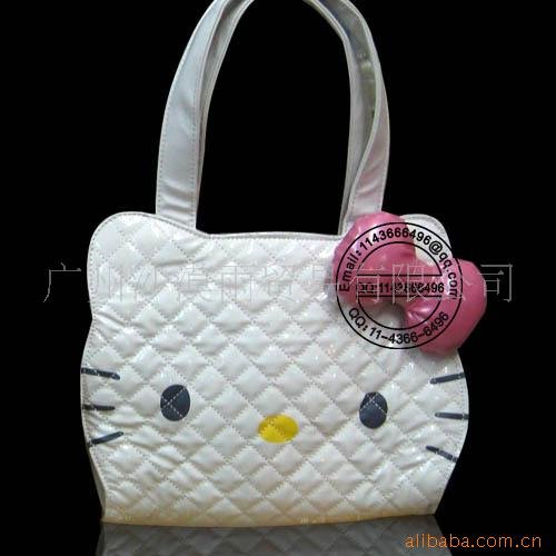 Hello Kitty White Head Handbag