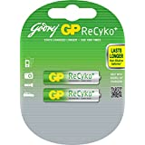 Godrej GP ReCyko AAA (2 Pcs - Pre-Charged) Rechargeable Cell Battery For Digital Camera,Remote Control