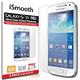 iSmooth Samsung Galaxy S4 Ultra Clear Premium HD Screen Protector 3 Pack