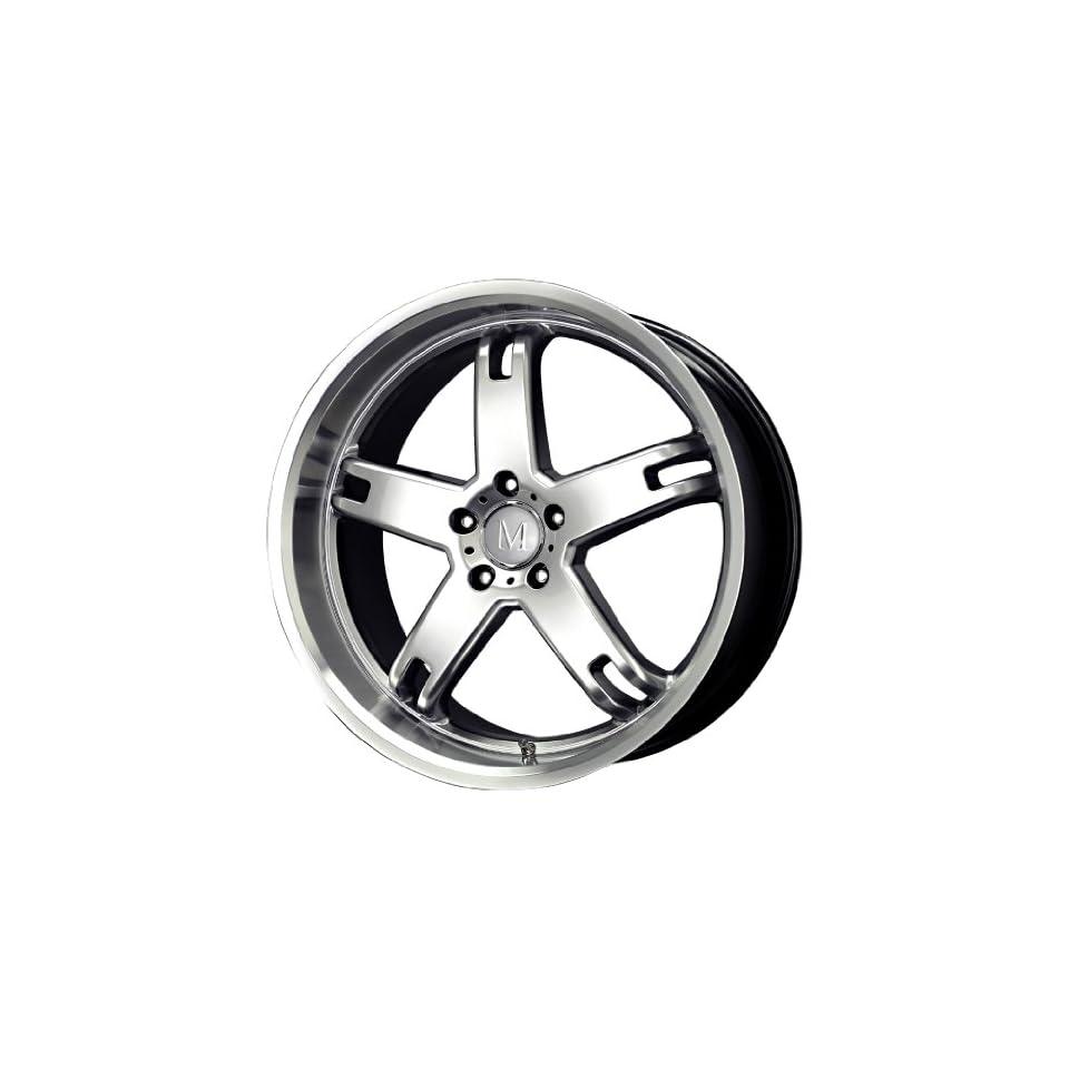 Mandrus Wheels Regenmeister Series Hyper Silver Machined Wheel (22x9/5x112mm)