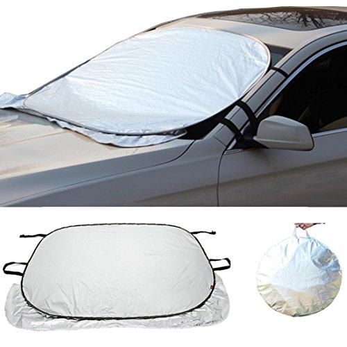 Iuhan® Fashion Jumbo Foldable Auto Car SUV Sun Shade Visor Block Front Window Windshield Cover (Iron Man Sun Visor compare prices)