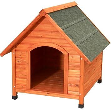 woodland 780123am niche bois pour chien mod le city plus l 101. Black Bedroom Furniture Sets. Home Design Ideas