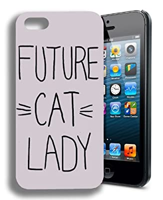 Future Cat Lady Funny Quote Iphone 5 and 5s Case from yoyo_girft