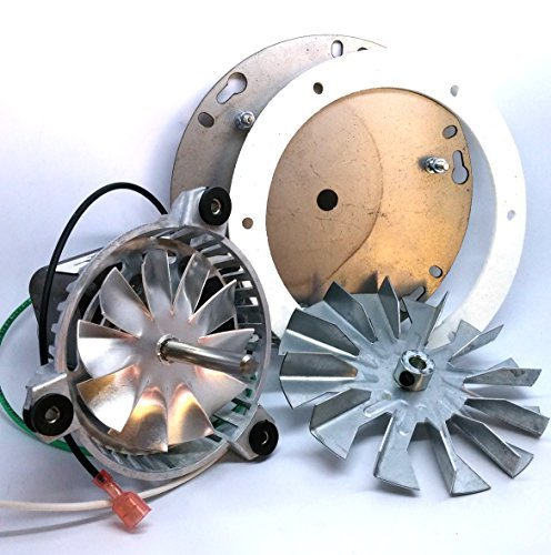 Englander Pellet Stove Combustion Blower Kit + 4 3/4