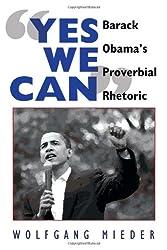 «Yes We Can»: Barack Obama's Proverbial Rhetoric