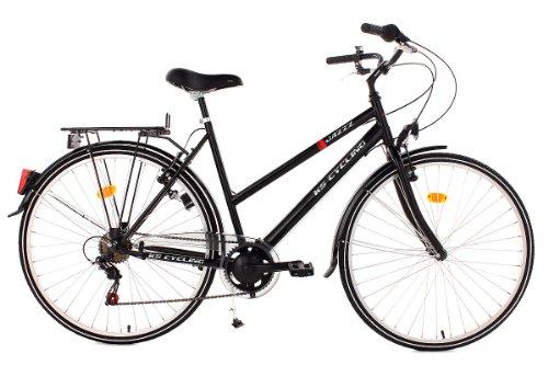 ks cycling damen fahrrad 28 jazzz schwarz rahmenh he. Black Bedroom Furniture Sets. Home Design Ideas