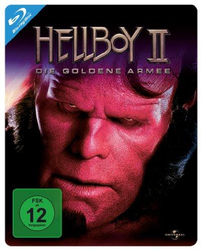 Hellboy 2 - Die goldene Armee - Steelbook [Blu-ray]