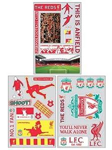Liverpool FC Wall Sticker Set