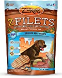 Zukes Z-Filets Healthy Grain-Free Filets for Dogs, Grilled Beef Recipe, 7.5-Ounce
