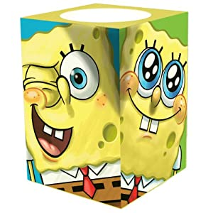 "Nickelodeon ""Spongebob, Bob Bunch"" Square Flameless Candle"