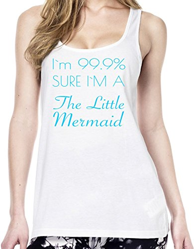 I'm 99% Sure I'm The Little Mermaid Funny Slogan Tunica delle donne Large
