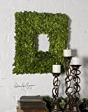 Uttermost Square Wreath Preserved Boxwood