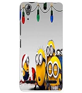 ColourCraft Cartoons Design Back Case Cover for LENOVO A6000